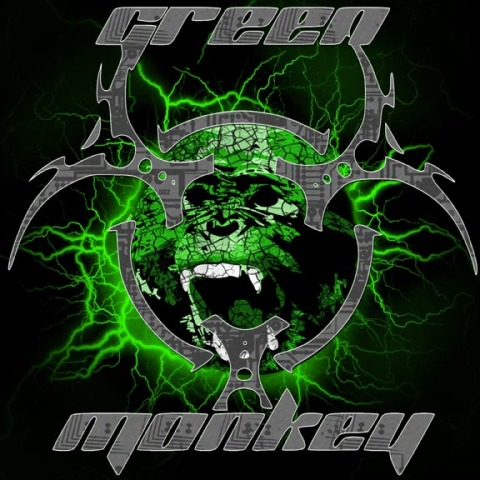Green Monkey CD Cover