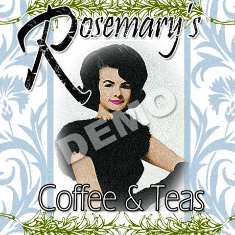 Rosemarys Product Label